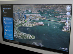 Google Earth Large multitouch